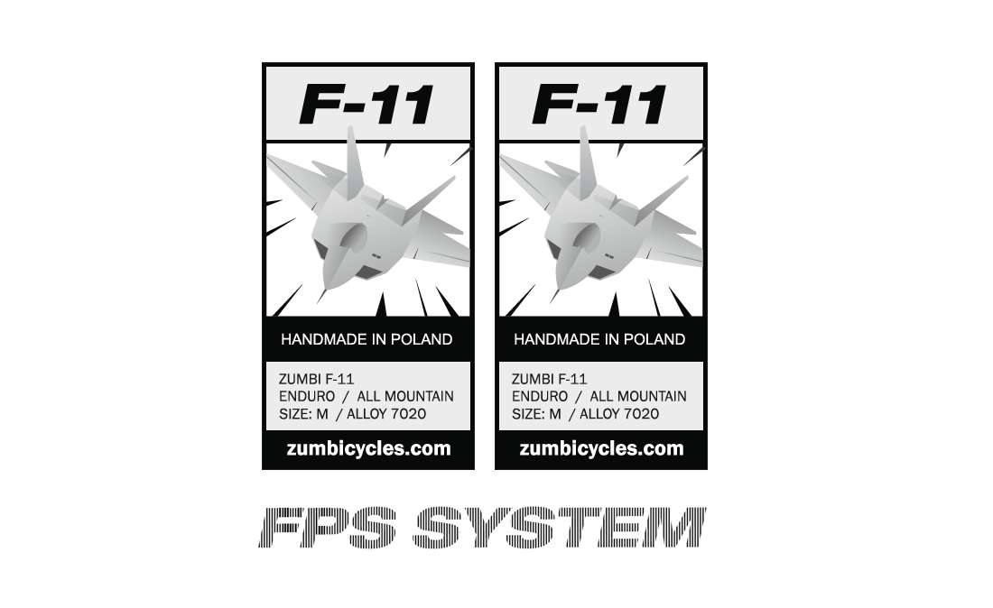 REPLACMENT DECAL SET FOR F11