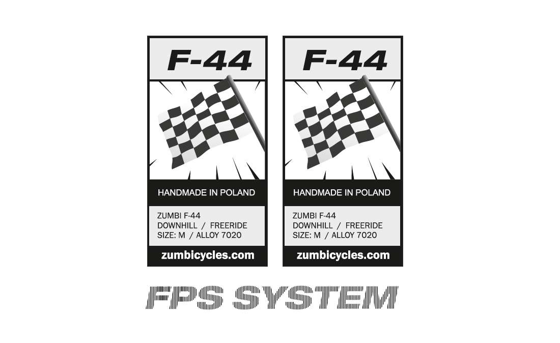REPLACMENT DECAL SET FOR F44