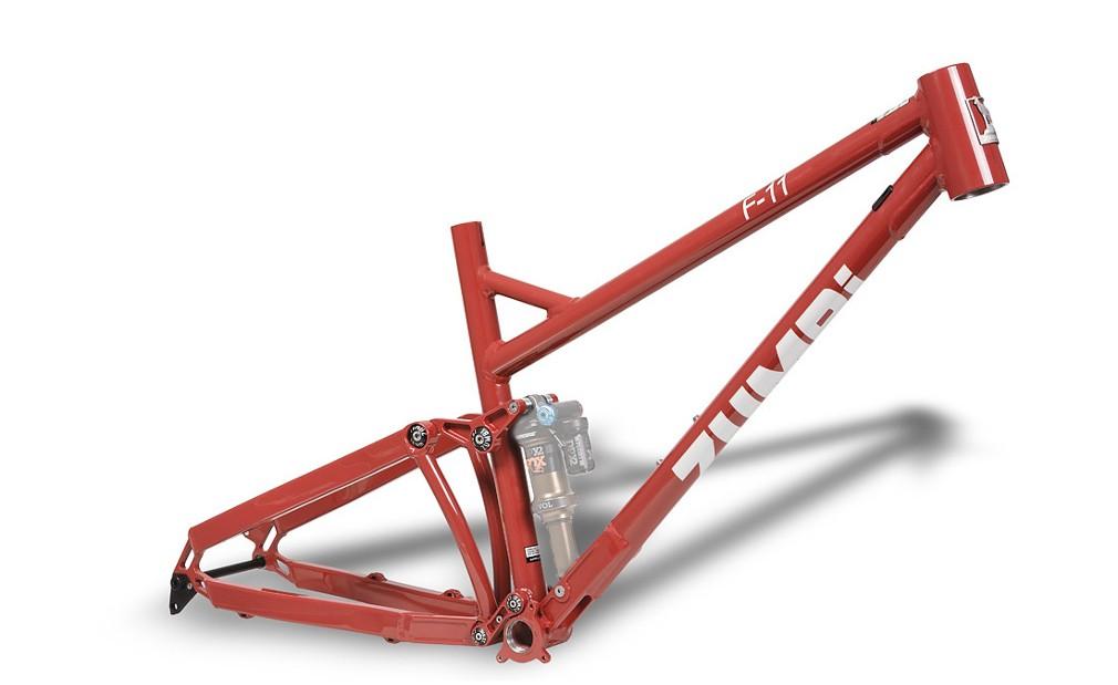 bike frame 150mm zumbi cycles