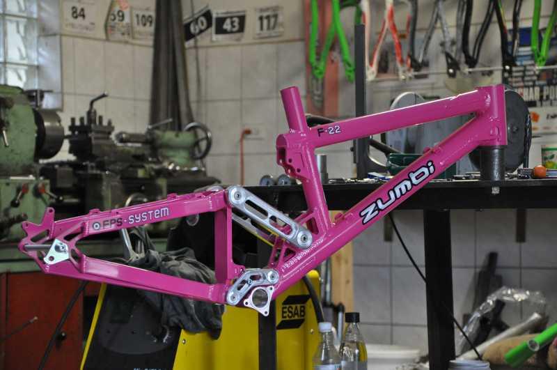 f22 superednuro zumbi cycles frame