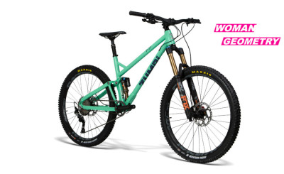 BIKE F11 27.5 FOX green