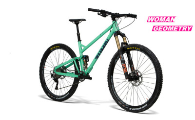 BIKE F11 29 FOX WOMEN green