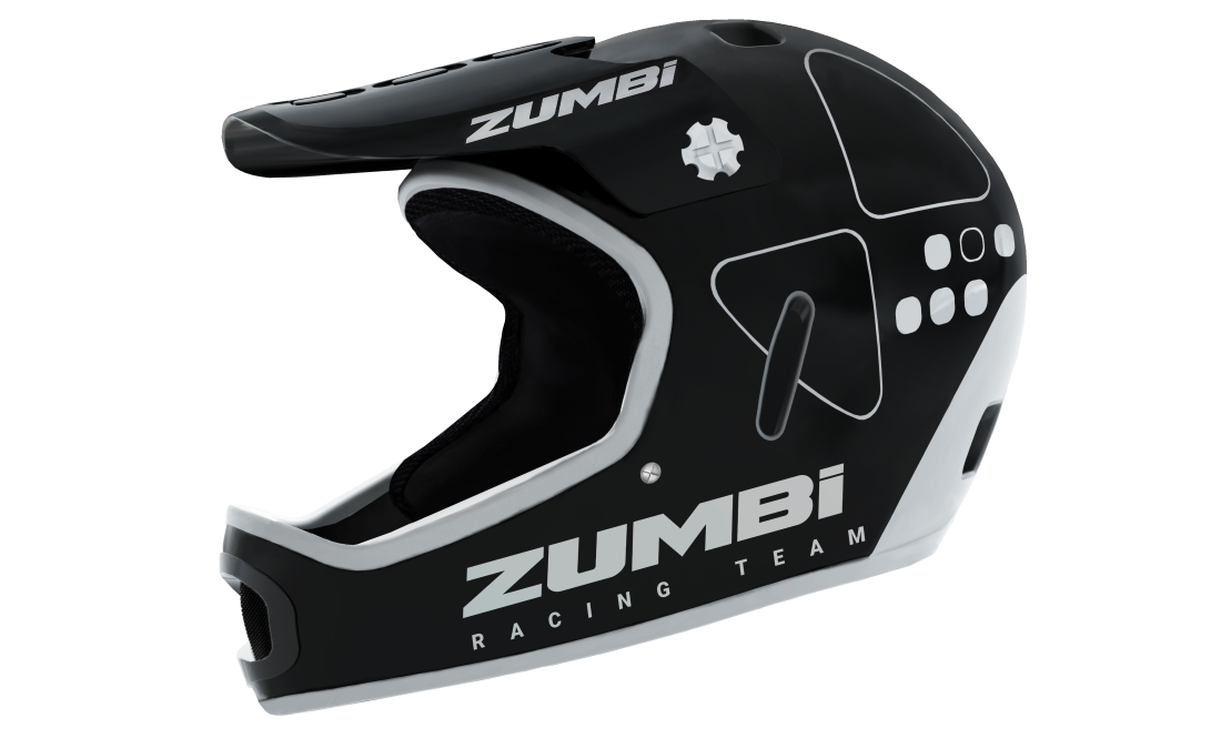 ENDURO MOUNTAIN BIKE HELMETS WITH ZUMBI LOGO
