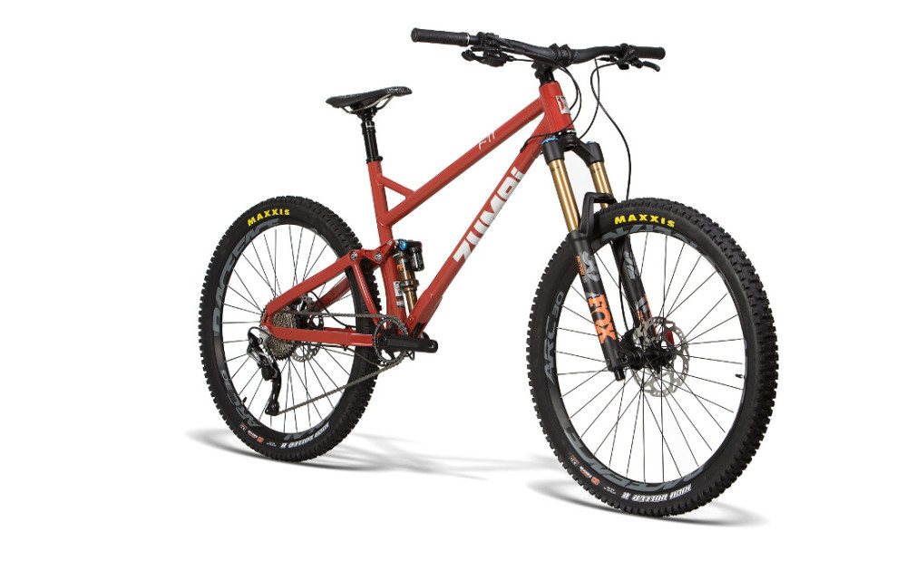 bike enduro zumbi cycles 160mm fox