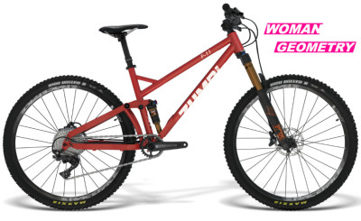 enduro woman geometry