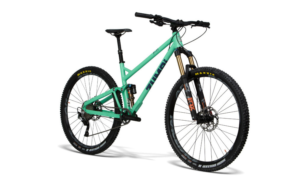 enudro mtb bike 29 fox zumbi cycles racing front