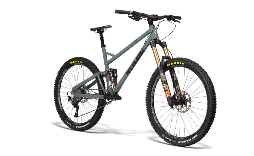 mtb enduro fox 160mm fox zumbi cycles grey