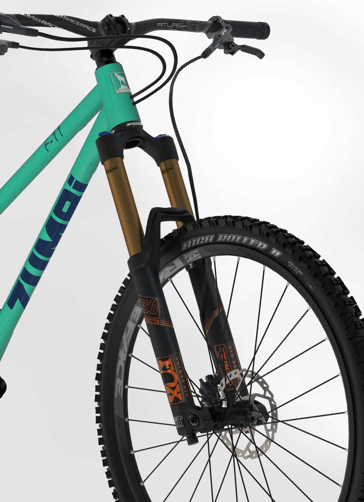 gorski rower damski 27.5 fox