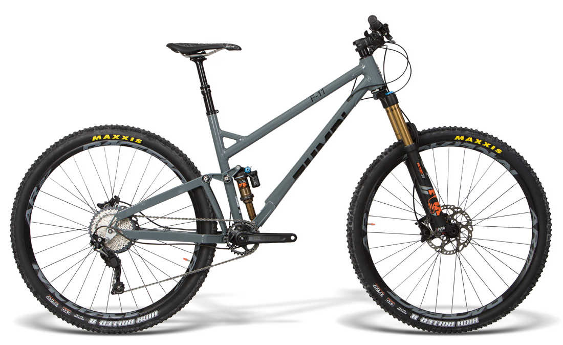 trail rower fox facory 29 zumbi cycles szary