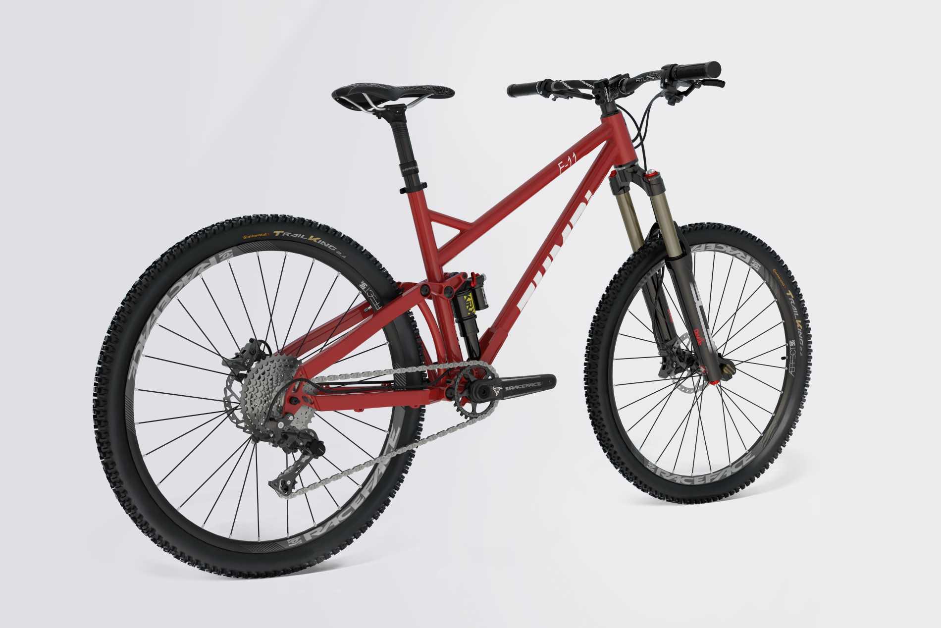 enduro zumbi cycles 160mm fox