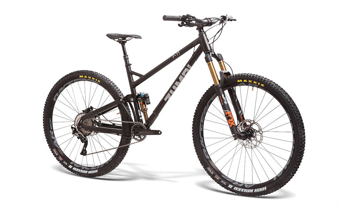 trail bike zumbi cycles 29 fox black