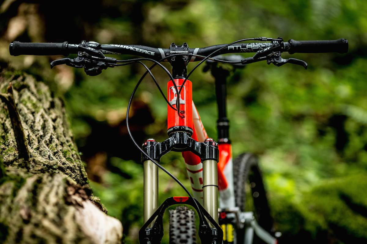 rower enduro 275 skok 160mm zumbi cycles f11 6