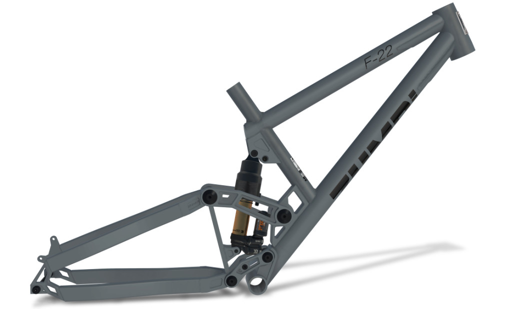enduro frame f22 fox