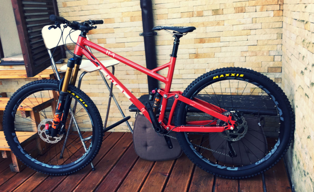downhill frame raw zumbi cycles