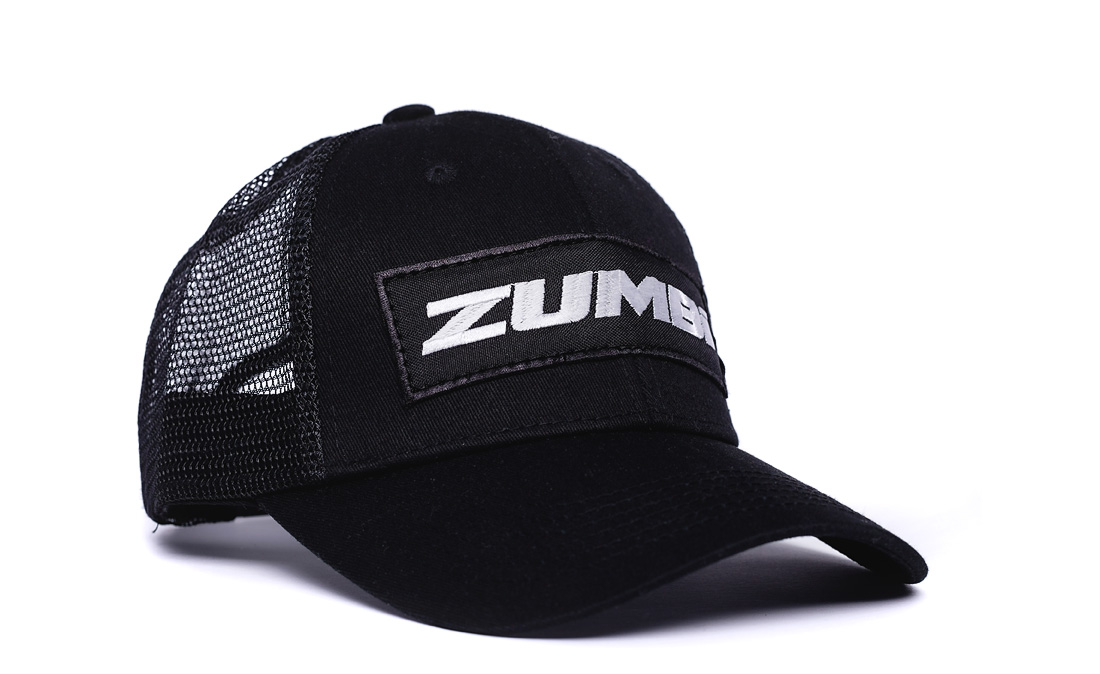 Cotton Cap with ZUMBI logo black