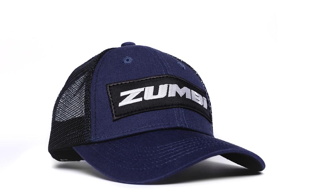Cotton Cap with with ZUMBI logo dark blue