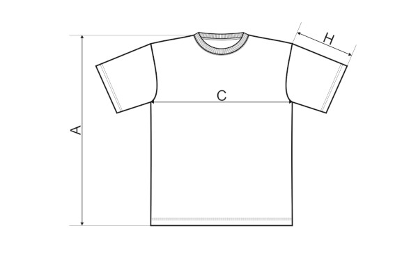 ZUMBI t-shirt sizing cart