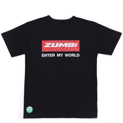Zumbi logo T-shirt black