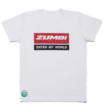 Zumbi logo T-shirt white